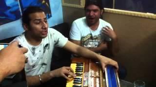 Joji ali khan & saji ali khna Rutan pyar karn dian ayan (unplug ) live in studio