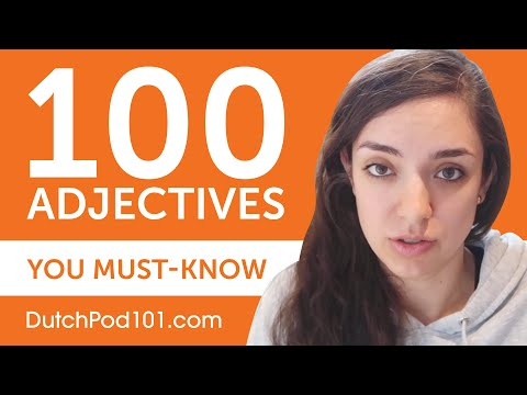 100 Adjectives Every Dutch Beginner Must-Know photo