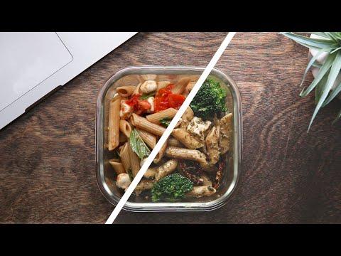 Meal Prep Pasta Salad 4 Ways ? Tasty