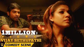 Naanum Rowdy Dhaan - Vijay Sethupathi Comedy Scene | Vijay Sethupathi, Nayanthara, Vignesh Shivan width=