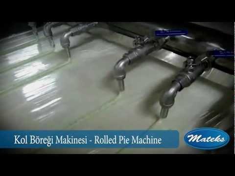 Kol böreği makinası, Kol böreği makinesi, Kol böreği üretimi - Mateks Makina