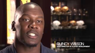 Quincy Wilson: I am a Mountaineer (75 sec.)