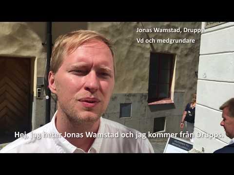 Hälsning från Jonas Wamstad på Drupps inför UIC-dagen 30/8 2018