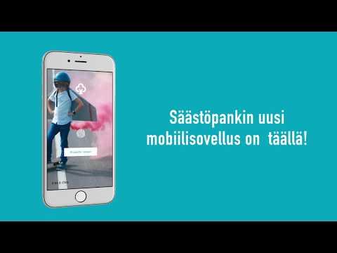 Säästöpankin uusi mobiilisovellus on nyt täällä!