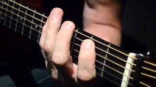 Left Hand scales instructional guitar video