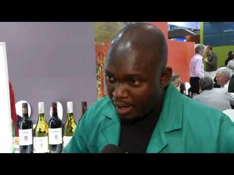 Prowein 2010 Enoch Zaleni South Africa
