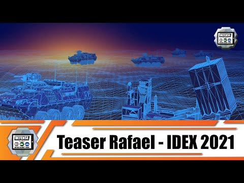 IDEX 2021 Rafael from Israel to participate at defense exhibition in Abu Dhabi UAE Stand 01-B32.