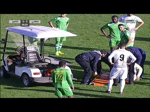 مباراة الطائي X الخليج دوري الأمير محمد بن سلمان لأندية الدرجة الأولى -الجولة(16)