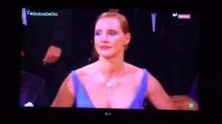 Leonardo DiCaprio Presents at the 2017 Globes