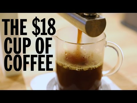 The Most-Expensive Cup of Coffee in the US | Food Network