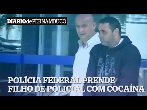 PF prende filho de policial com 3kg de coca�na