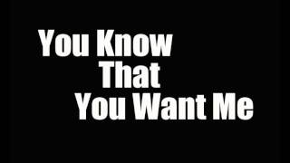 You Know That You Want Me Ft Tabanacle Pro-V Bilzar And MoreOne