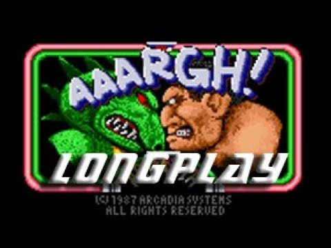 Longplay #162 AAARGH! (Commodore Amiga ) - Lizard