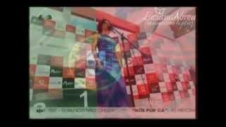 """Luciana Abreu canta Hino Nacional """"A Portuguesa"""""""