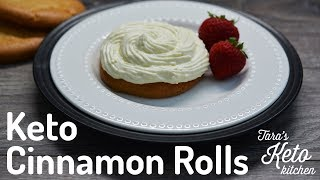 Easy Keto Cinnamon Rolls: Cozy up with a warm keto cinnamon bun!