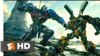 Transformers: The Last Knight (2017) - Bumblebee vs Nemesis Prime Scene (7/10) | Movieclips