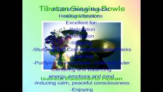 Tibetan Singing Bowls Healing Sounds CD Music Meditation Sleep Relax Focus Purify.