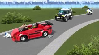 LEGO® City - Vakmerő száguldás 60007