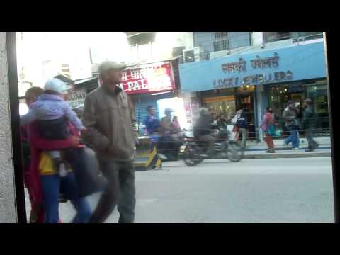 People Watching in New Road, Kathmandu, Nepal