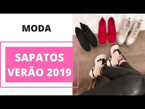 Sapatos para o Verão 2019 | Moda