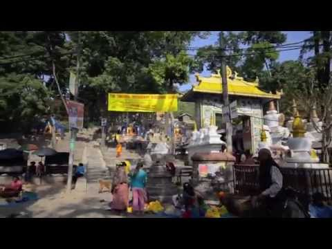 Daily Commute to Karma Samten Ling Buddhist Monastery, Kathmandu, Nepal