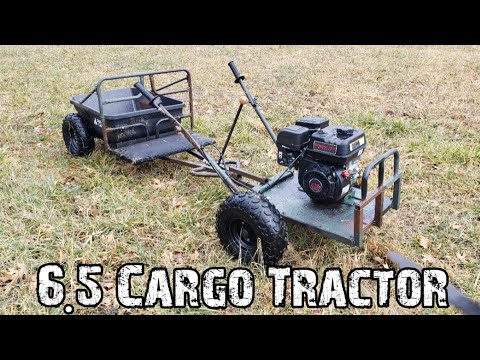 6.5 Cargo Tractor Build Farm Cart