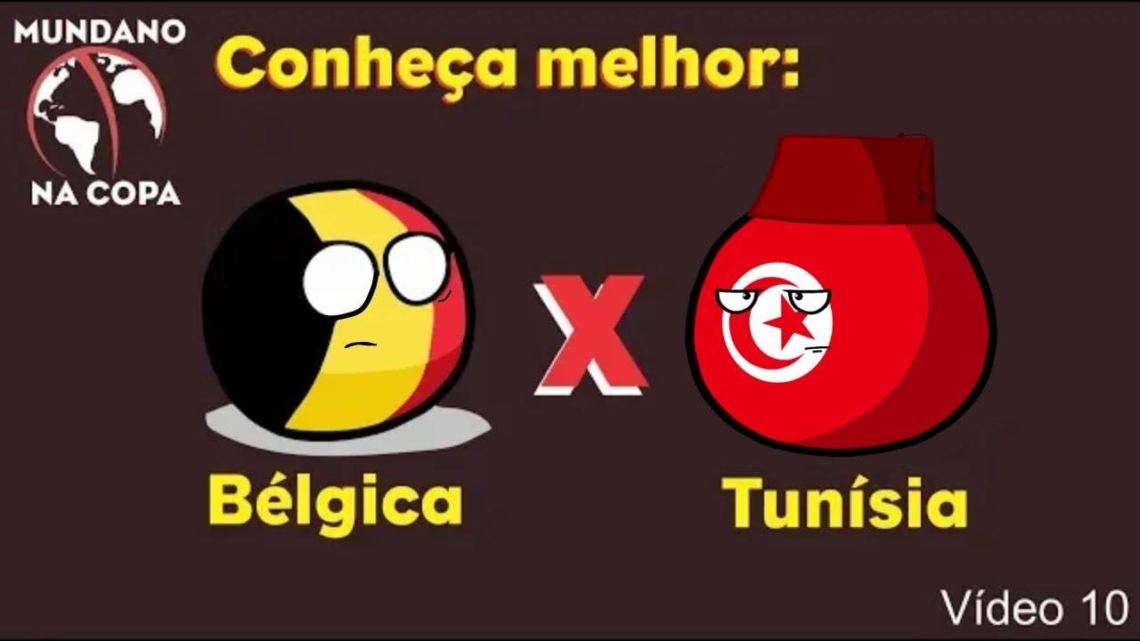 Mundano na Copa #10 – Bélgica x Tunísia