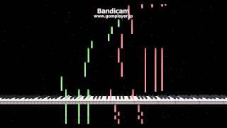 【艦これ】MI作戦 ボス戦のBGMを無理矢理ピアノにしてみた
