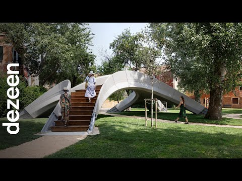 Striatus 3D-printed bridge ?establishes a new language for concrete? says Holcim CEO | Dezeen