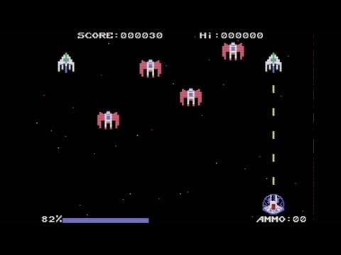 Retaliate 0 1beta (2018) | Preview | C64 | Homebrew World