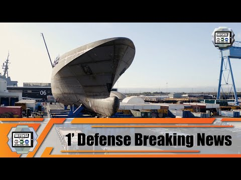 Royal Australian Navy First Offshore Patrol Vessel Arafura coming together