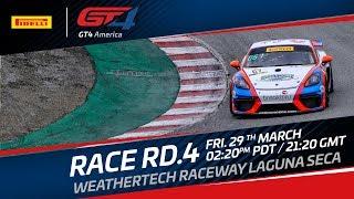 Race 2 - GT4 SprintX Laguna Seca 2019 - LIVE