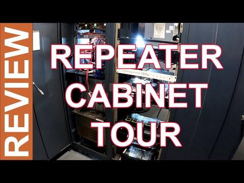 Ham Radio Repeaters - A Tour of a Ham Radio Repeater Cabinet