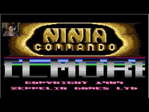 NINJA COMMANDO ATARI ( NIVELES 1 Y 2 )