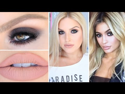 Kylie Jenner Inspired Smokey Eyes ? BH Cosmetics Shaaanxo Palette!