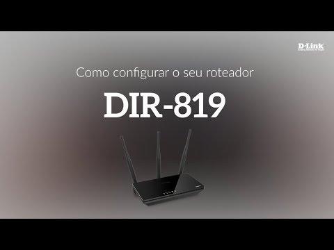 Como configurar o seu roteador DIR-819