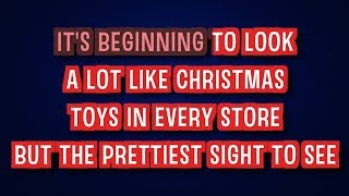 It's Beginning to Look a Lot Like Christmas - Michael Buble   Karaoke LYRICS