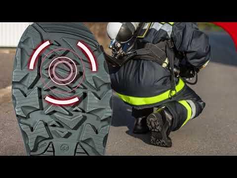 Eine neue Serie von Arbeitsschuhen für die Feuerwehr   Honeywell Safety