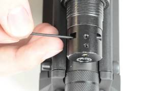 How to sight in the laser on the UTAS UTS-15 laser/flashlight combo