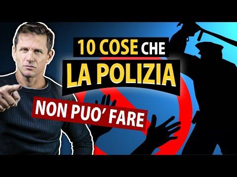 10 COSE CHE LA POLIZIA NON PUÒ FARE | avv. Angelo Greco