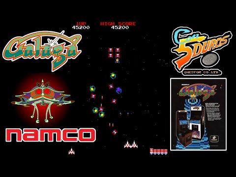 """GALAGA - """"CON 5 DUROS"""" Episodio 930 (+versiones MSX y NES) (1cc) (12 Stages)"""