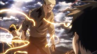 Reiner and Bertholdt's Transformation Theme [HD] (OFFICIAL) - Attack on Titan S2