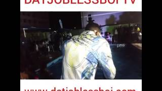 Selebobo performing new single WakaWaka  (Footages by DJBTV)