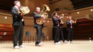 Flight of the bumble bee Canadian Brass live.