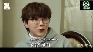 SNL Korea 8 - Novio en 3 minutos con Sandeul de B1A4 [Sub español]