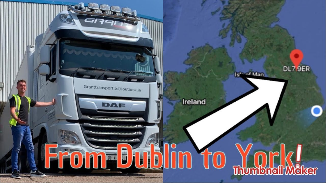 TRUCKING FROM IRELAND TO THE UK.
