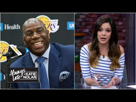 84dcf8f47 Why is there so much tampering in the NBA? | Always Late with Katie Nolan