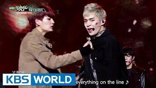 UP10TION - White Night | 업텐션 - 하얗게 불태웠어 [Music Bank / 2016.11.25]