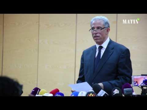Conférence de presse sur l'affaire du meurtre du député Abdellatif Merdas