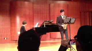 The Only Answer - Alto Saxophone and Piano